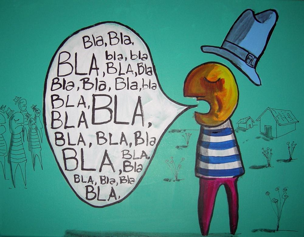 """Una máxima de la comunicación: mejor pocos """"blas"""" que muchos """"blas"""""""